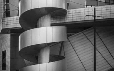 Curved Staircase - Fine Angle Photography
