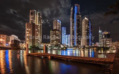 Gold Coast skyline - Fine Angle Photography