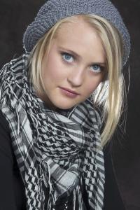 Model Head Shot - Fine Angle Photography