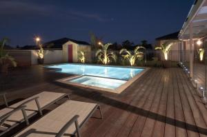 External Domestic House Pool Area - Fine Angle Photography